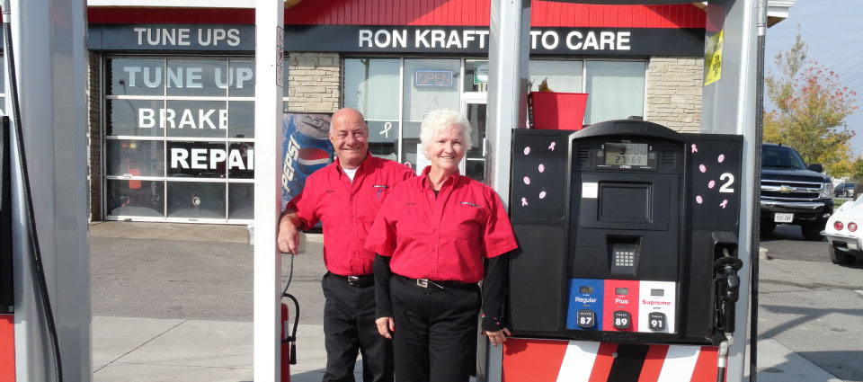 Ron Kraft Auto Care Staff